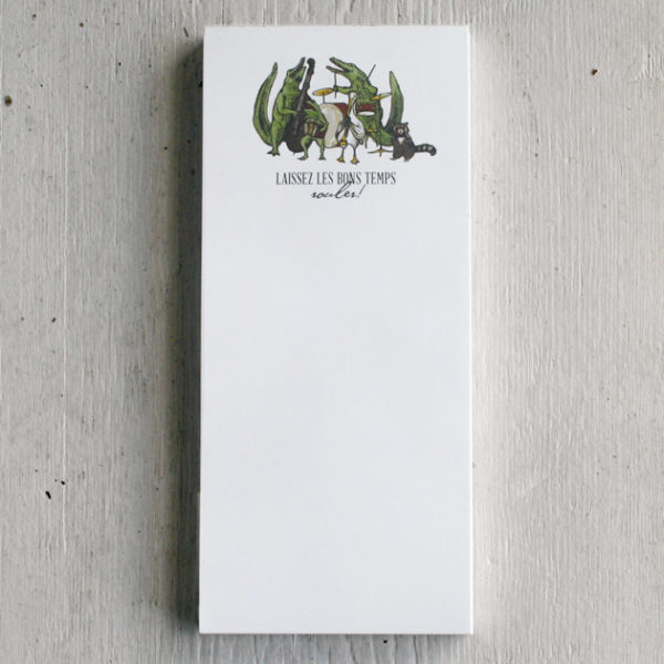 alligator-band-notepad