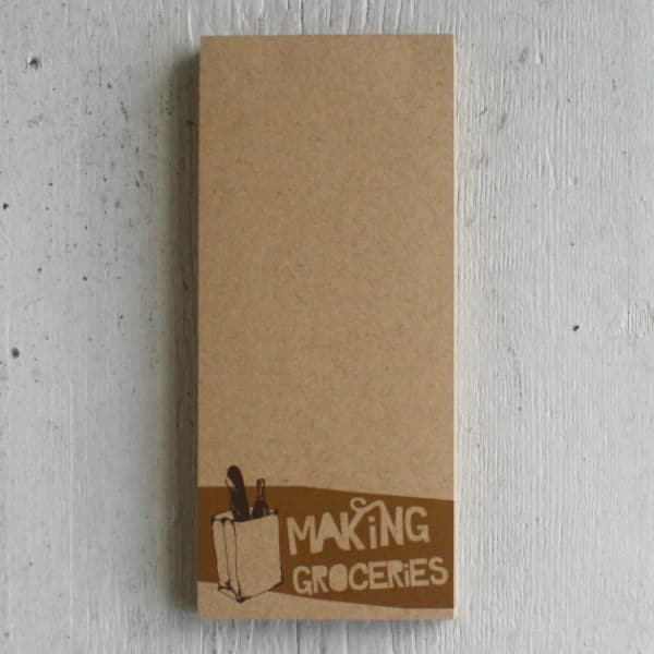 making-groceries-notepad